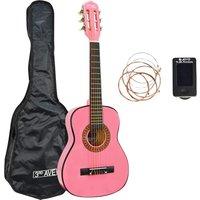 3RD AVENUE STX20FPPK Classical Guitar - Pink, Pink