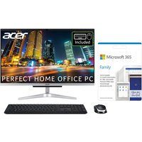 """ACER Aspire C24 23.8"""" All-in-One PC & Microsoft 365 Family Bundle - Intel®Core i3, 512 GB SSD"""