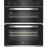 BEKO BBXTF25300X Electric Double Oven - Stainless Steel, Stainless Steel