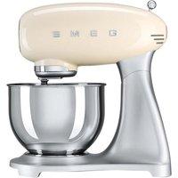 SMEG SMF01CRUK 50s Retro Stand Mixer - Cream, Cream