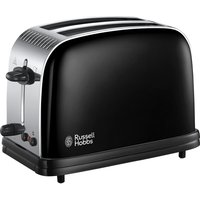 Buy RUSSELL HOBBS Colours Plus 23331 2-Slice Toaster - Black, Black - Currys
