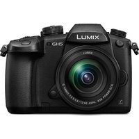 PANASONIC Lumix DC-GH5MEB-K Compact System Camera with 12-60 mm f/3.5-5.6 Zoom Lens - Black, Black