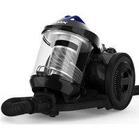VAX Power Stretch Pet Cylinder Bagless Vacuum Cleaner - Black & Blue, Black