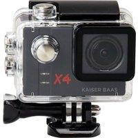 KAISER BAAS X4 Action Camcorder - Black, Black