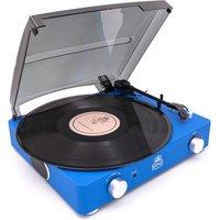 GPO Stylo II Turntable - Blue, Blue