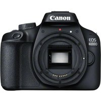 CANON EOS 4000D DSLR Camera - Black, Body Only, Black