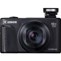 Canon PowerShot SX740 HS Superzoom Compact Camera - Black,