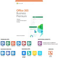 MICROSOFT Office 365 Business Premium - 1 year for 1 user