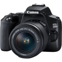 CANON EOS 250D DSLR Camera with EF-S 18-55 mm f/3.5-5.6 III Lens, Black