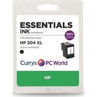 ESSENTIALS HP 304 XL Black Ink Cartridge, Black.
