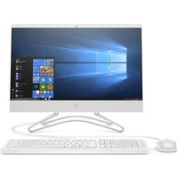 "HP 22-c0052na 21.5"" Intel® Core™ i3 All-in-One PC - 128 GB SSD, White, White"