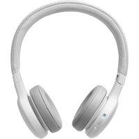 JBL Live 400BT Wireless Bluetooth Headphones - White, White