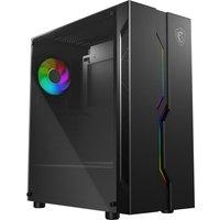 MSI MAG Vampiric 010 ATX Mid-Tower PC Case, Black