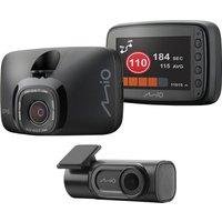 MIO MiVue 812 Quad HD Dash Cam & A50 Rear Cam Bundle