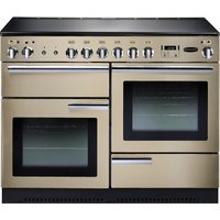 RANGEMASTER Professional 110 Electric Range Cooker - Cream and Chrome, Cream