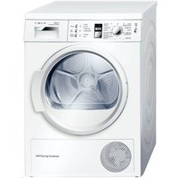 Bosch Wtw863s1gb Heat Pump Condenser Tumble Dryer - White, White