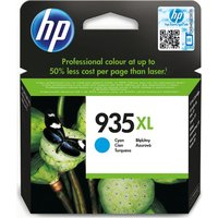 HP 935XL Cyan Ink Cartridge, Cyan