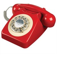 Click to view product details and reviews for Wild Wolf 746 Corded Phone Phone Box Red Red.