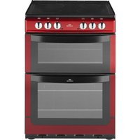 NEW WLD NW601EDO Electric Cooker - Metallic Red, Red