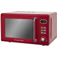 RUSSELL HOBBS RHRETMD706R Solo Microwave - Red, Red