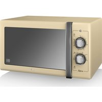 SWAN Retro SM22070CN Solo Microwave - Cream, Cream
