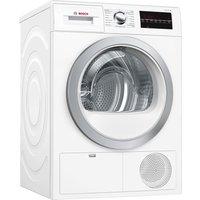 BOSCH Serie 6 WTG86402GB Condenser Tumble Dryer - White, White