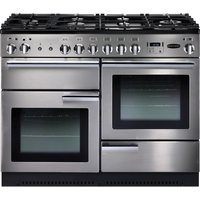 Rangemaster Professional 110 Gas Range Cooker - Stainless Steel, Stainless Steel