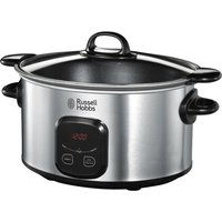 RUSSELL HOBBS 22750 Slow Cooker - Stainless Steel, Stainless Steel