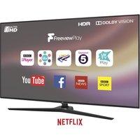 "55"" JVC LT-55C888  Smart 4K Ultra HD HDR LED TV, Gold"