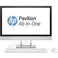 HP Pavilion 24-r101na 24 AMD Ryzen 5 All-in-One PC - 1 TB HDD, White, White