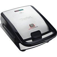 Buy TEFAL Snack Collection SW852D27 Sandwich Toaster - Black & Stainless Steel, Stainless Steel - Currys PC World