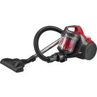 ESSENTIALS C700VC18 Cylinder Bagless Vacuum Cleaner - Red and Grey, Red