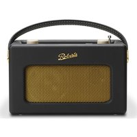 Roberts Revival Istream3 Portable Dabﱓ Retro Smart Bluetooth Radio - Black, Black