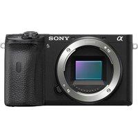 SONY a6600 Mirrorless Camera - Black, Body Only, Black
