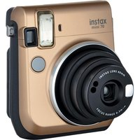 INSTAX Mini 70 Instant Camera - 30 Shots Included, Gold, Gold