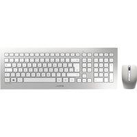 CHERRY DW 8000 Wireless Keyboard & Mouse Set, Silver