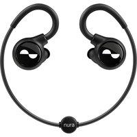 NURA Nuraloop Wireless Bluetooth Noise-Cancelling Sports Earphones - Black, Black