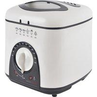 LLOYTRON KitchenPerfected E6010WI Deep Fryer - White, White