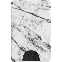 POPSOCKETS PopWallet Credit & Business Card Case - White Marble, White