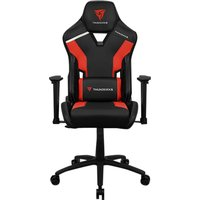 THUNDERX3 TC3 Gaming Chair - Ember Red, Red.