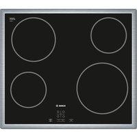 Bosch Pke645d17 Ceramic Hob – Black, Black