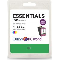 ESSENTIALS 62 XL Tri-Colour HP Ink Cartridge.