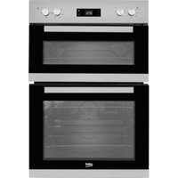 BEKO Pro BXDF22300S Electric Double Oven - Silver, Silver
