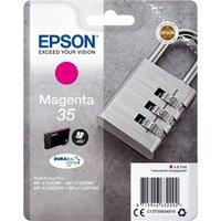 EPSON 35 Padlock Magenta Ink Cartridge, Magenta