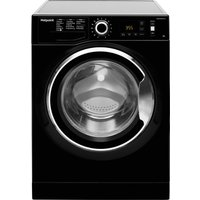 Hotpoint Active Care Nm11 964 Bc A 9 Kg 1600 Spin Washing Machine - Black, Black