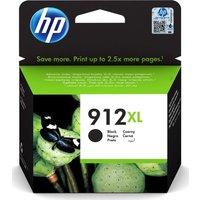 912XL Black Ink Cartridge, Black