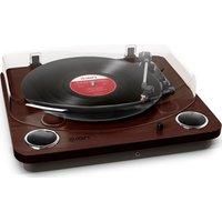 ION Max LP Belt Drive Turntable - Dark Wood