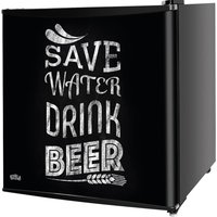 KTTF4BGB-1003 Mini Fridge - Black, Fixed Hinge, Black