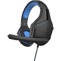 PIRANHA HP25 Gaming Headset - Black & Blue, Black