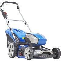 HYUNDAI HYM80LI460P Cordless Rotary Lawn Mower - Blue, Blue